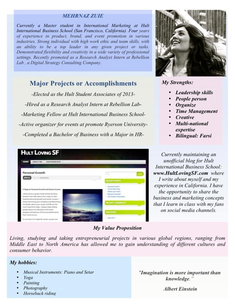 hult international business school personal statement